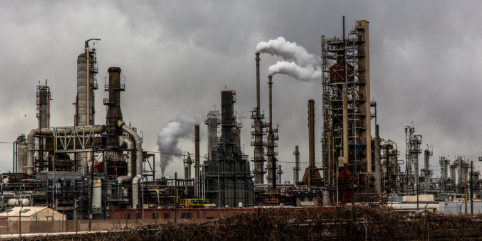 CO2-uitstoot van broeikasgassen
