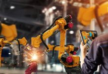 Augmented reality-platform robot