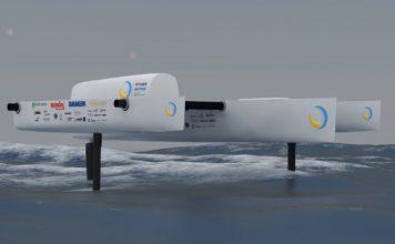 Vliegende waterstofboot