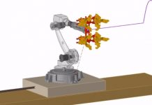 Altair simulatie robot