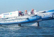 Eerste vliegende waterstofboot