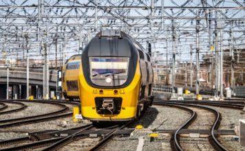 Frequentieomvormers Prorail trein